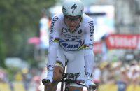 Martin zoeft naar voorlopig snelste tijd in Tour