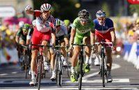 Sprinters weer aan zet in Tour de France