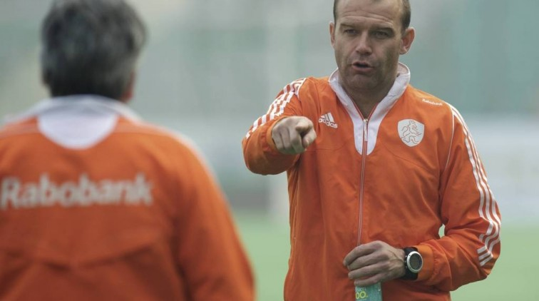 Eric Verboom coach HC Den Bosch