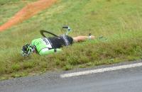 Stef Clement geeft op in Tour de France