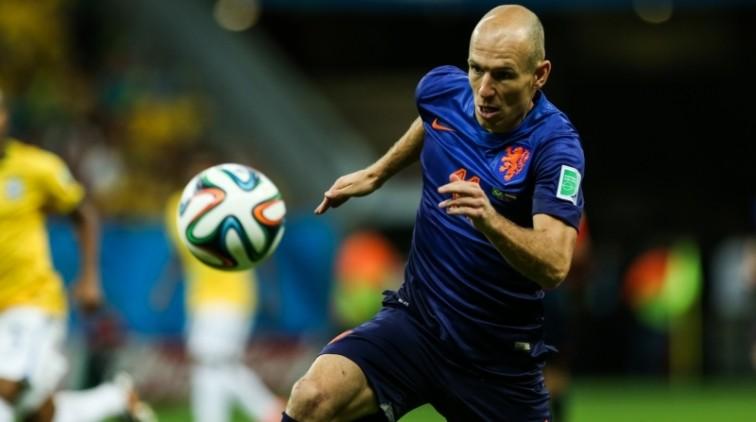 Arjen Robben ook wereldtopper op Facebook