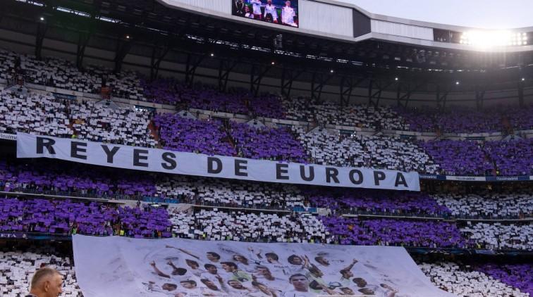 Fans verstoren presentatie James in Bernabéu (video)
