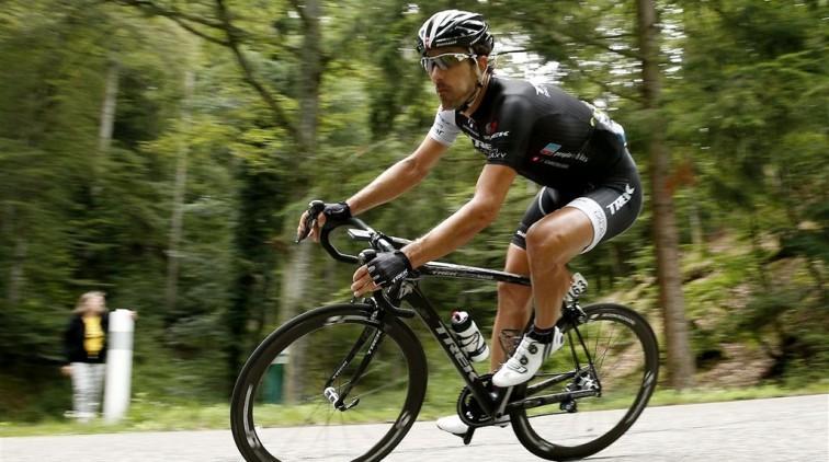 Cancellara start in Vuelta