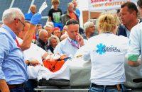 Stybar stapt uit Eneco Tour na harde val
