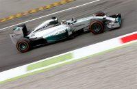 Hamilton snelste in laatste vrije training