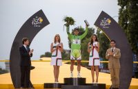 Peter Sagan won dit jaar de groene trui in de Tour de France. Foto: VI-Images