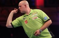 Van Gerwen is in Edinburgh in de halve finale gesneuveld. Foto: VI-Images