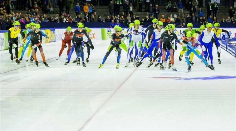 Competitie mass start begint in Den Haag
