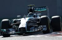 Rosberg start voor Hamilton in Abu Dhabi