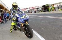 Rossi op pole position