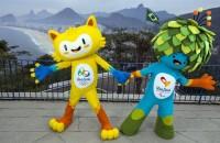 Mascottes Rio heten Vinicius en Tom