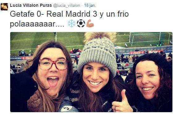 Dit zou de nieuwe vriendin zijn van Ronaldo. Foto: Twitter