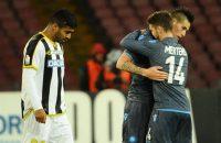 Napoli moeizaam naar kwartfinales