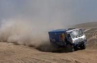 Russische truckers domineren in 4de etappe