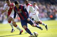 Barcelona koploper na 32e hattrick Messi