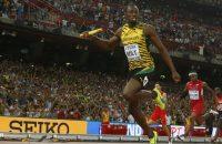 Goud Jamaica op estafette, Bolt schrijft geschiedenis