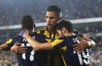 Robin van Persie baalt van bijrol bij Fenerbahçe