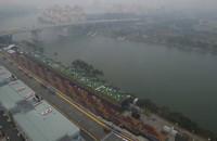 'Smog bedreigt GP van Singapore'