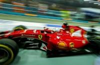 Vettel het snelst in derde vrije training, Verstappen negende