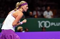 Eerste zege Kvitova bij WTA Finals