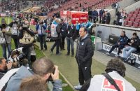 Huub Stevens start met punt bij Hoffenheim