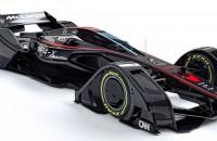 'Batmobiel' McLaren als schets toekomstige F1-wagen