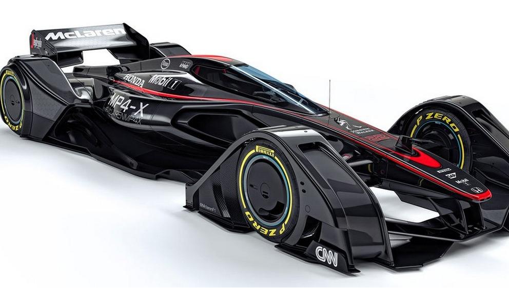 Mclaren schetst f1 wagen als batmobiel video sportnieuws for Schets programma