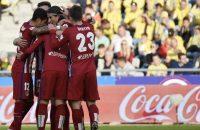 Atlético Madrid wint en behoudt koppositie