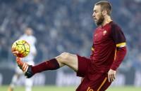 AS Roma maand zonder routinier De Rossi