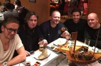 Barney eet met Tim Krul en Siem de Jong in Newcastle