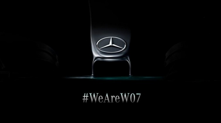 Mercedes licht tipje van de sluier op over nieuwe bolide