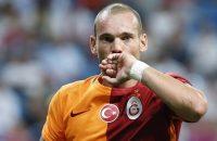 Wesley Sneijder belangrijk voor Galatasaray