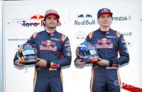 Carlos Sainz & Max Verstappen, Toro Rosso