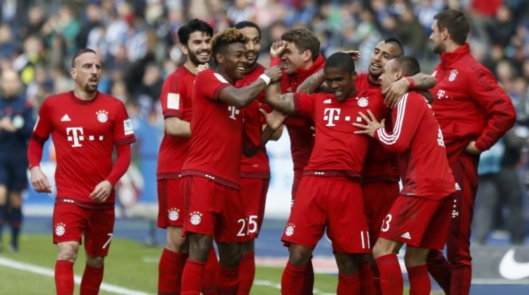 Bayern München kan volgende week voor eigen publiek kampioen