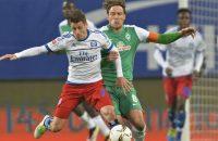 HSV bijna veilig na zege op concurrent Werder Bremen