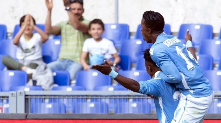Lazio houdt zicht op Europees voetbal