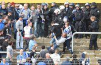 Duitse politie houdt 530 voetbalfans aan