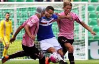 Palermo wint van Sampdoria en stelt degradatie uit