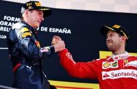 Vettel hoopte dat Max een caravan achter zijn auto had