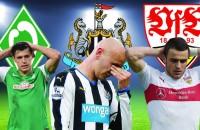 Welke grote clubs in Europa vrezen voor degradatie?