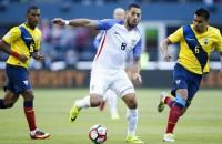 Amerikanen langs Ecuador naar halve finale Copa