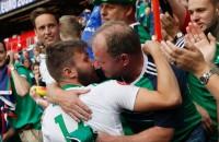 Feestje in Belfast voor voetballers Noord-Ierland