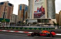during practice for the European Formula One Grand Prix at Baku City Circuit on June 17, 2016 in Baku, Azerbaijan.