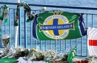 Weer overlijdt voetbalfan van Noord-Ierland