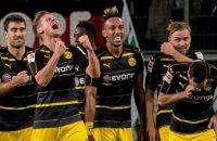 Dortmund maakt zeventien goals in drie duels