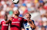 Hertha blijft in spoor van Bayern München