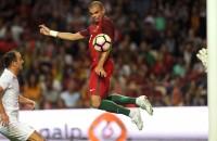 Portugal pas laat op gang tegen Gibraltar