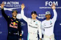 Ricciardo over Mercedes-coureurs: Altijd pijnlijke stilte