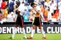 Valencia ook in derde competitieduel onderuit