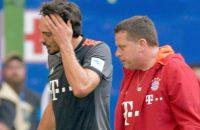 Zorgen om knie Hummels bij Bayern München